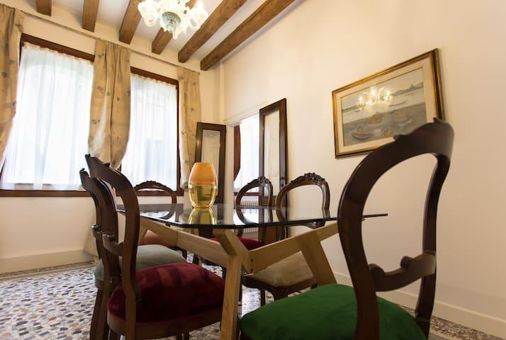 Ca' Nal -BRAGOZZO- S.Mark - Rialto - Venetië - Appartement