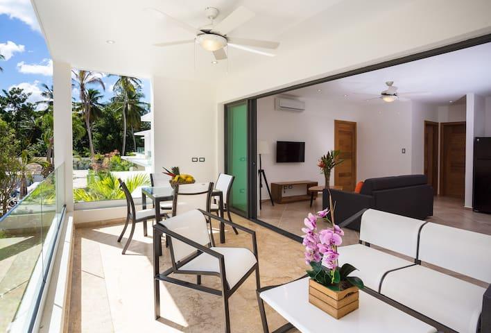 Penthouse 1 habitación a 50 metros de la playa