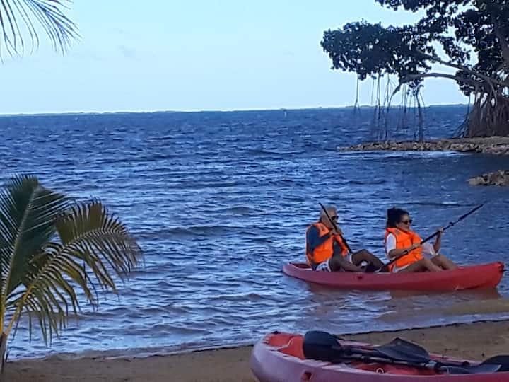 Seaside Cabanas - Golden Plum