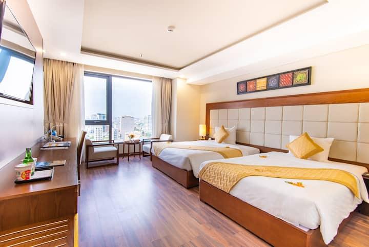 Fam Deluxe Twin bed room (Grand Sea Hotel)