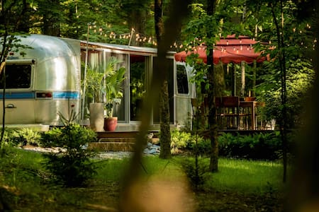 The Airstream at June Farms