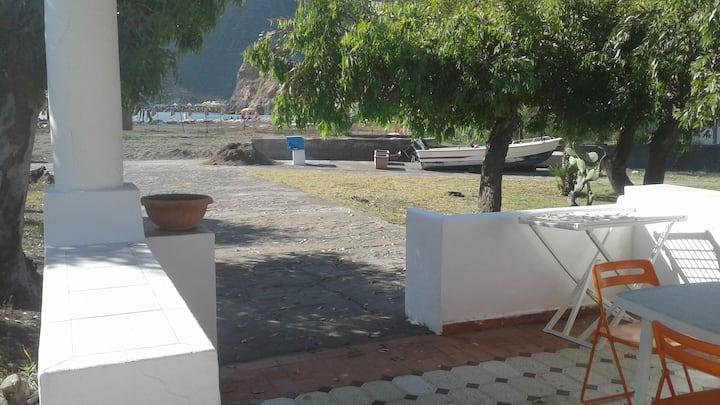Villetta da 5 posti con accesso sulla spiaggia