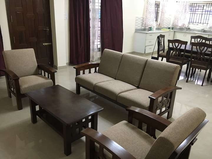 Apartment near Hennur/Outer Ring Road