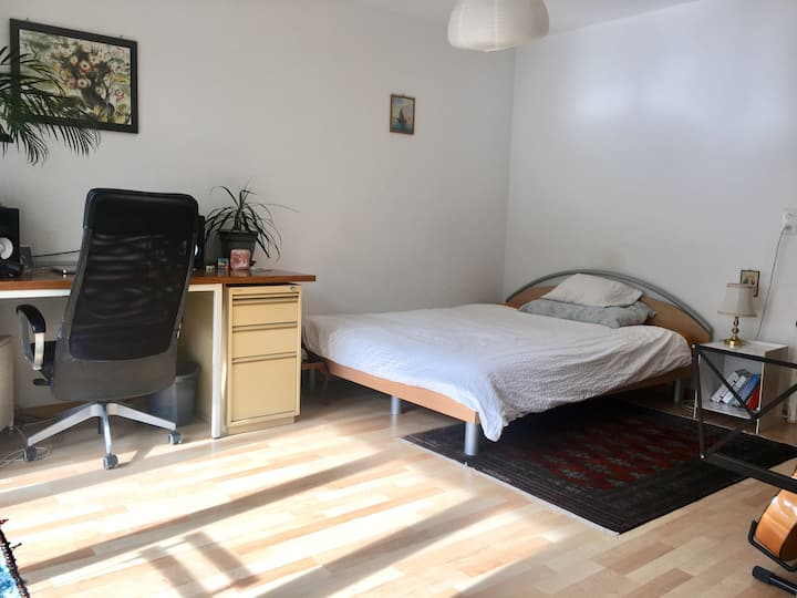 1-room flat with balkony