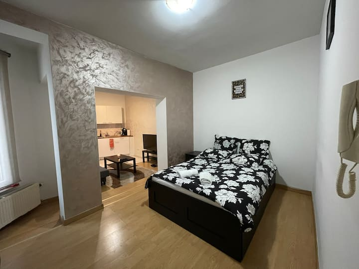 B.Lux hostel nice apart near center & EU instit