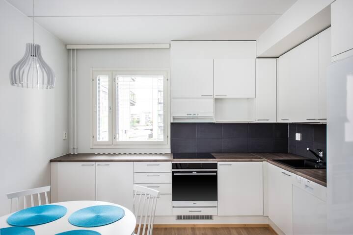 3 room apartment with sauna, Oulu (E22)