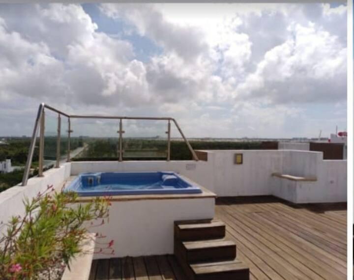 Precioso y cómodo depa en Cancún