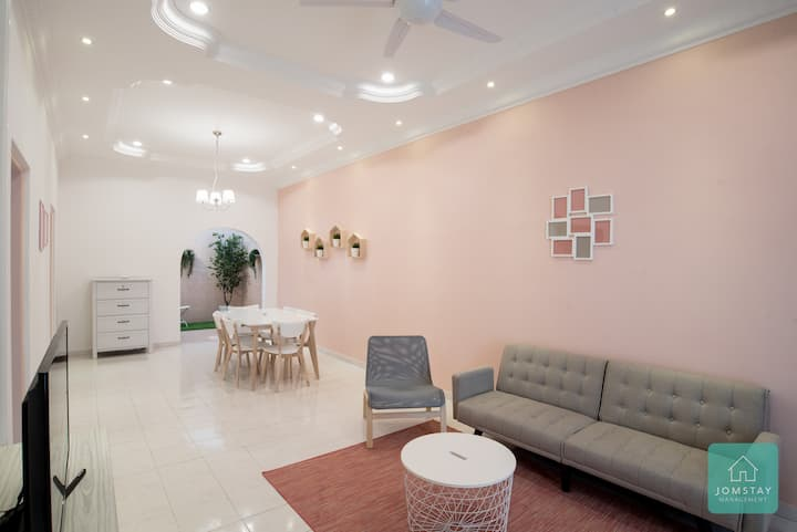 ★Super Promo★Jomstay - Pink House (Ipoh)