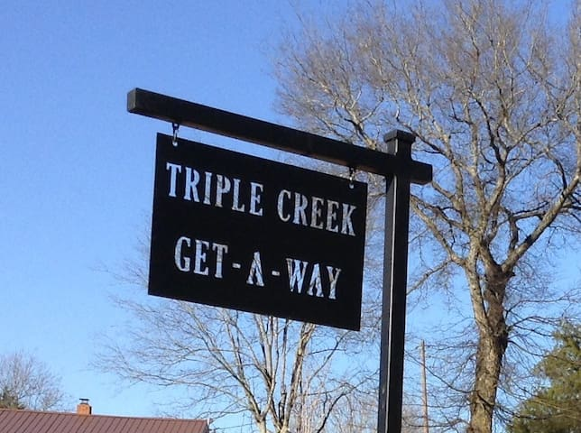 Triple Creek Get-A-Way - Mount Pleasant - Allotjament sostenible a la natura