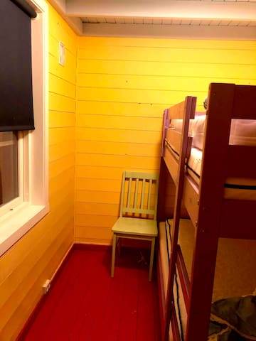 Bedroom 2 with bunk bed.