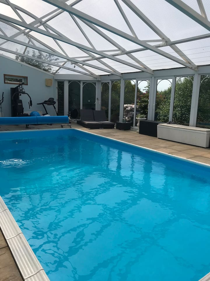 Swimming Pool Out Building