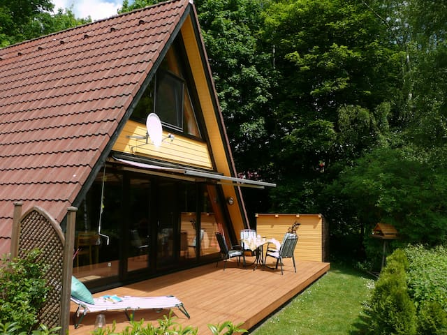 Tiny House A16 in Machtlos-Natur pur am Waldrand