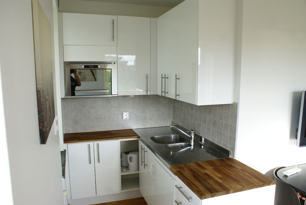 Stylish kitchenette