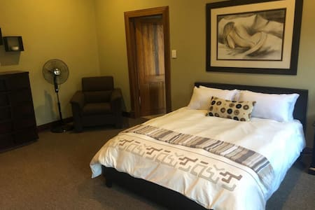 Upmarket stylish room in a security estate