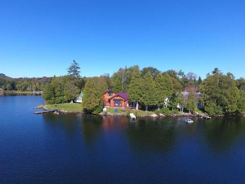 Waterfront cabin on Newark Pond, Newark VT, NEK