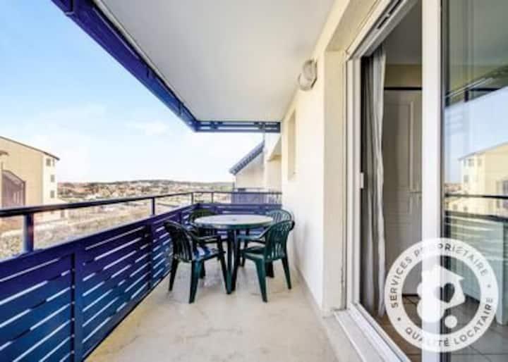 Appartement 2pièces 4pers-Résidence Front de mer