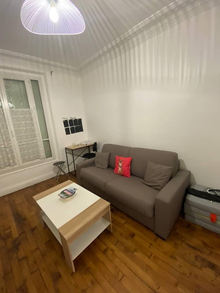 Studio moderne au centre du 14e arrondissement