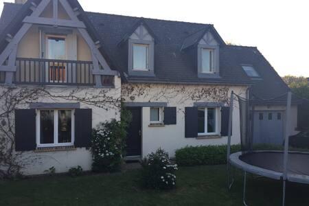 Maison  familiale 10 ' Tours- Golf - Ballan-Miré - 独立屋