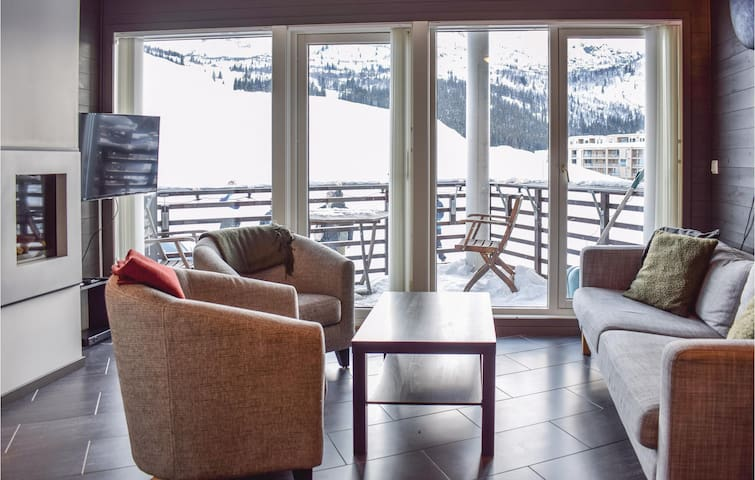 Holiday apartment with 2 bedrooms on 61m² in Hemsedal