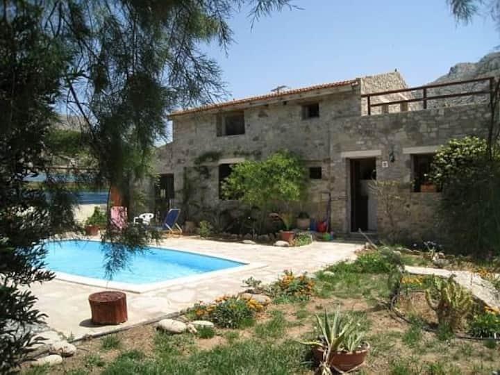 Stone villa with private pool in Crete