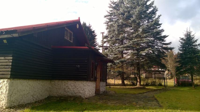 Chata na Samčance, Staré Hamry - Staré Hamry - Faház