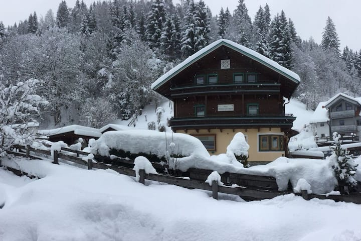 Private family chalet in the Alps - sleeps 16