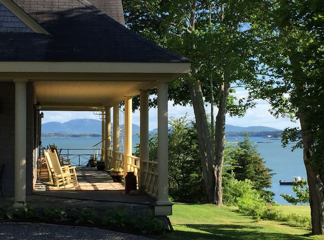 Acadia Bay Inn - Wisteria Room - Sullivan - Bed & Breakfast