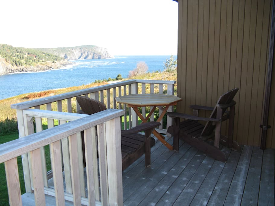 Ocean view from front deck