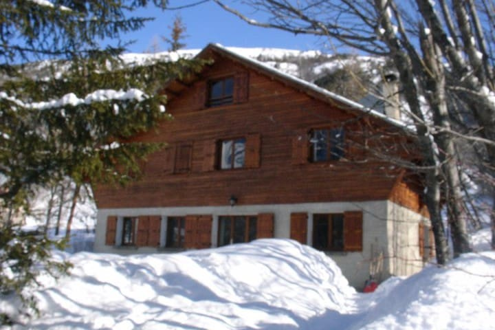 Chalet familial avec vue - Le Monêtier-les-Bains - Chalet