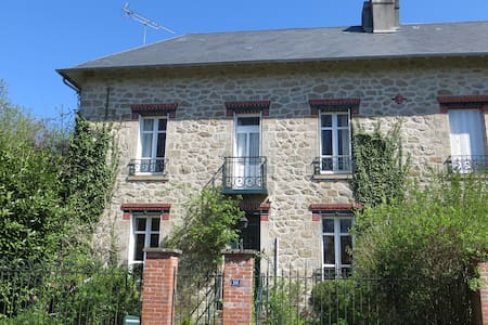 Charming and spacious country house - Peyrat-le-Château - Talo
