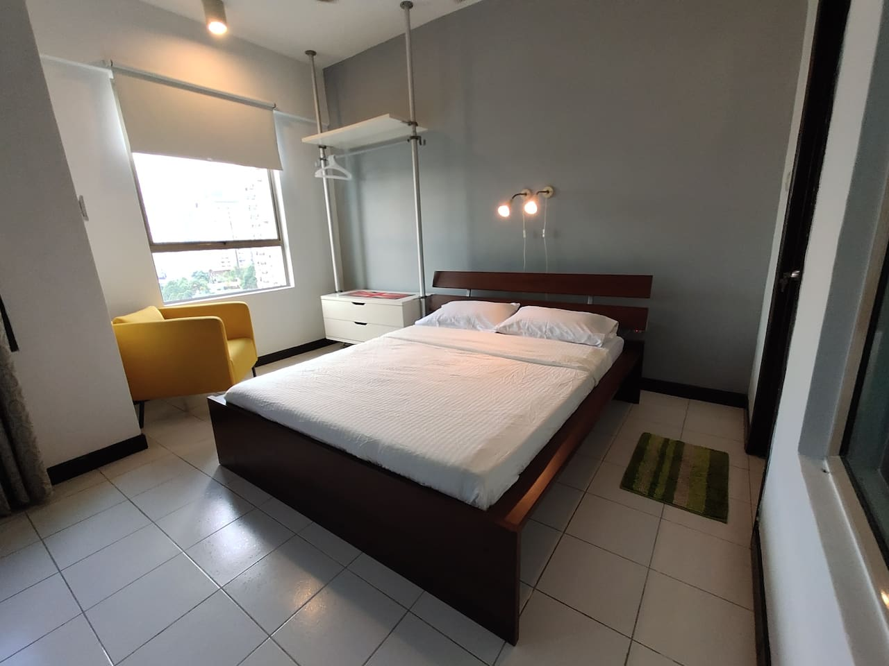 Fully furnished studio apartment with all the privacy and amenities you need to make your stay comfortable and memorable.