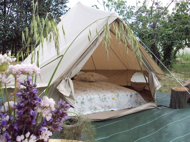 Tente canadienne - glamping