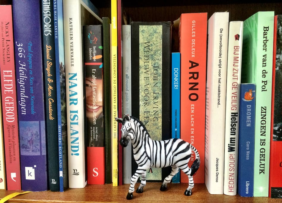 Books to enjoy your stay in the Zebrahouse.