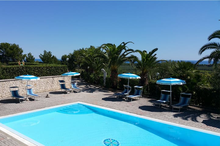 Puglia Vieste Bright Studio | Nature & Relax - Vieste - Apartment
