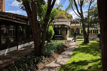 The Library at Café la Huerta
