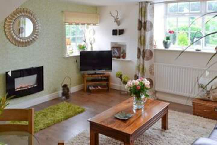 Netherhall cottage surrounded by glorious views