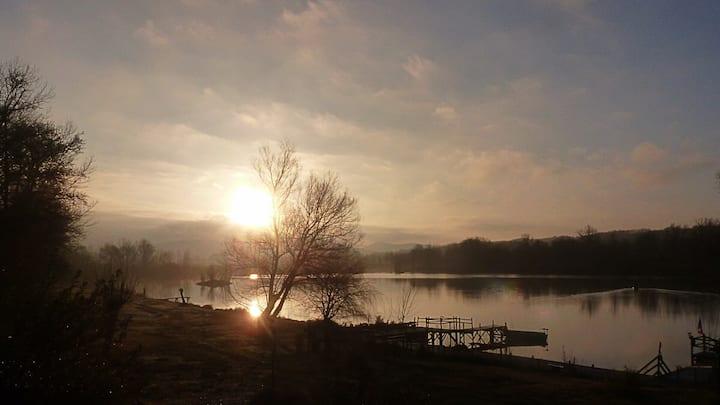 chalet de 4 places domaine du lac de latournerie