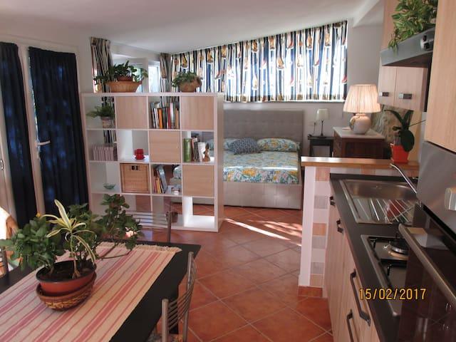 La casina bilocale nuovo indipendente con giardino - Castiglione della Pescaia - Apartment