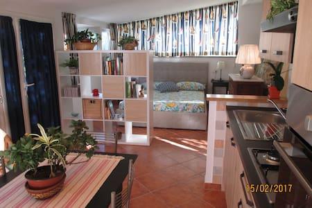 La casina bilocale nuovo indipendente con giardino - Castiglione della Pescaia - Appartement