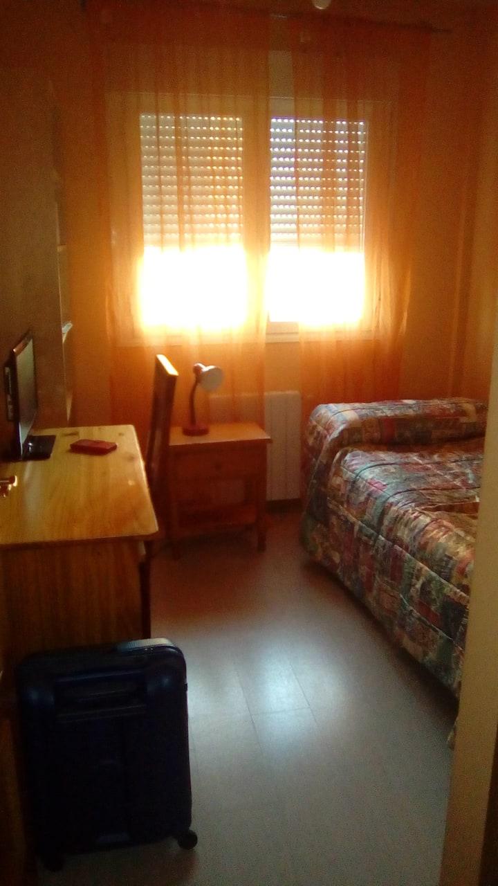 Habitación zona tranquila en Rivas