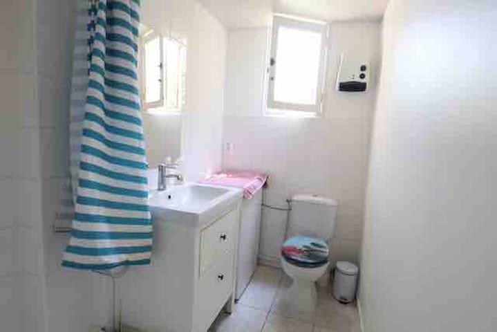 Salle d'eau  Lavabo / douche / wc