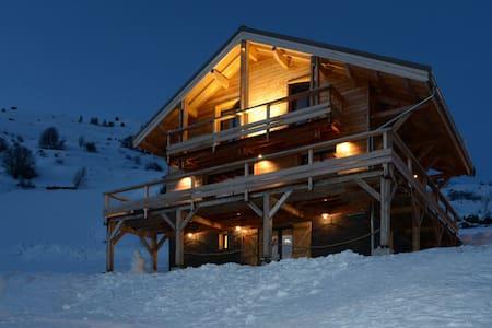 Appartement cosy dans magnifique chalet au calme - Orcières - Apartament