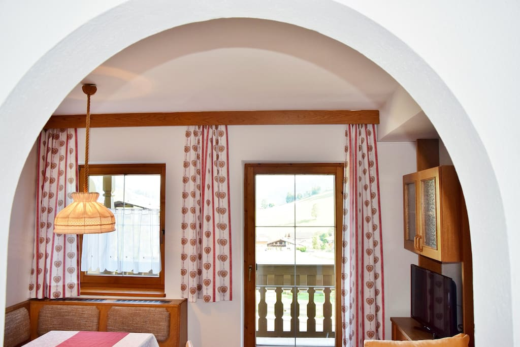 Wohnzimmer Apartment Niederau