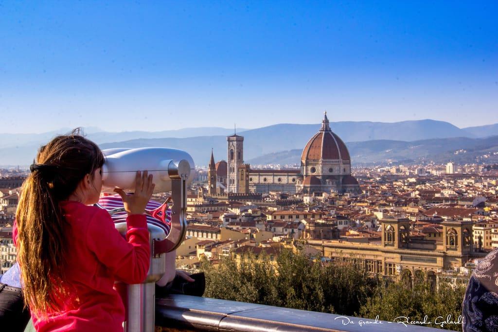 Welcome in Florence ©Riccardo Galardi