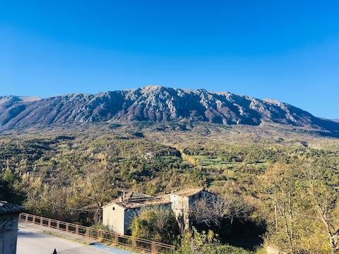 Casa con giardino a Caramanico Terme