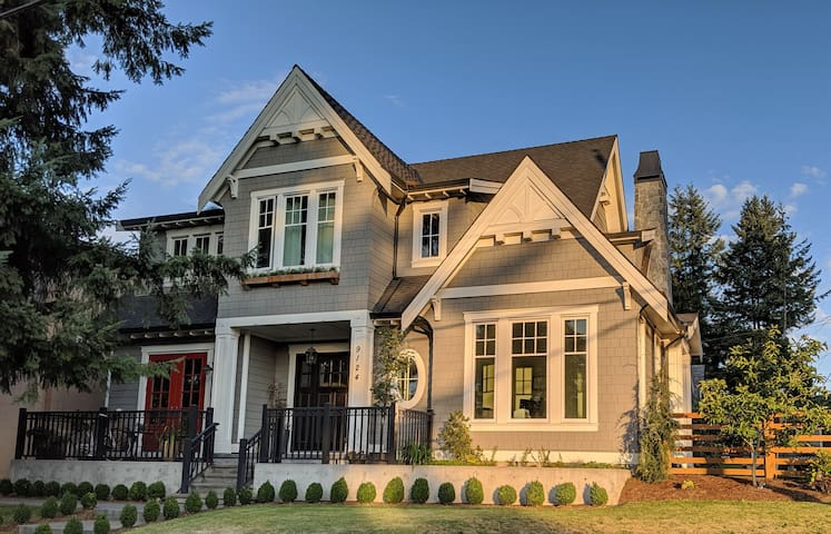 Heritage Inspired Home in Historic Fort Langley