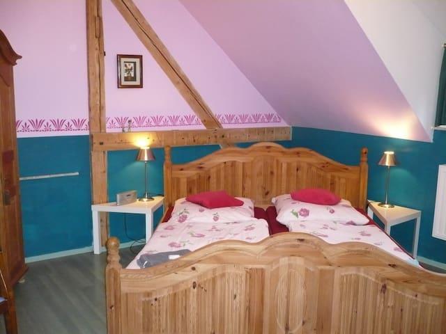 "Doppelzimmer ""Alpenglühen"" in der Villa Viva - Bassum"