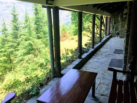 The Forest Cottage Naldehra | Valley view rooms
