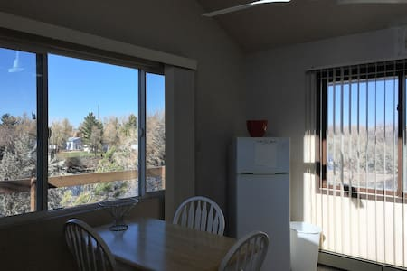 Rent the Upstairs of my Riverfront Home