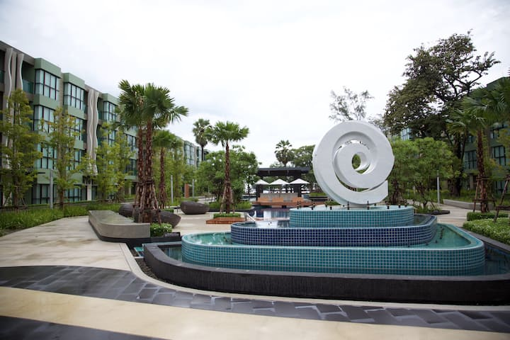 1 Bedroom Beachfront Condo Cha-am A1 คอนโดริมหาดชะอำ